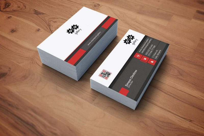 Дизайн на визитки