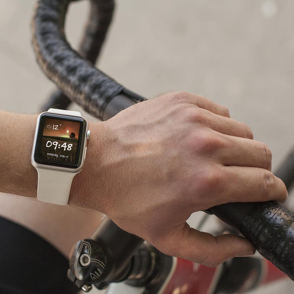 Потребителски интерфейс на приложение за смарт часовник